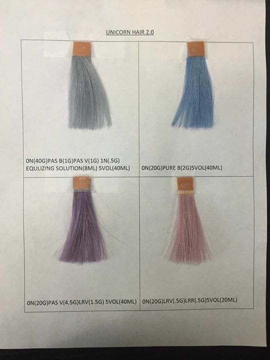 Grey And Pink Hair Colors