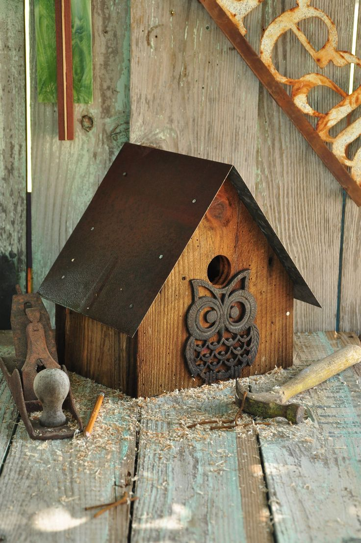 Barn Owl Birdhouse - WoodWorking Projects & Plans