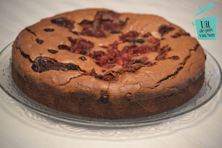 Zoute Caramel Cake