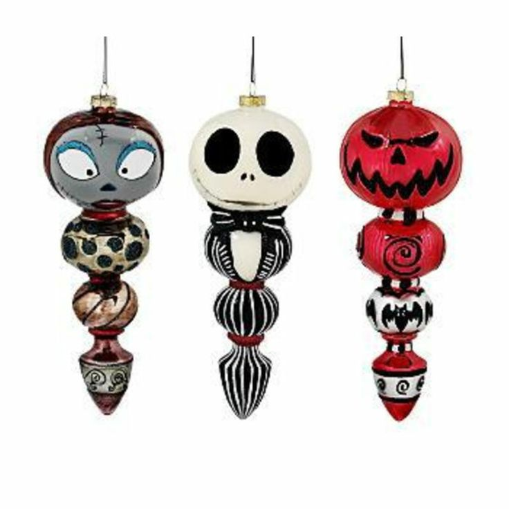 Jack And Sally Heart Ornament