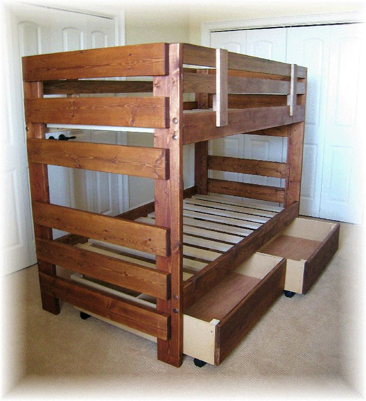 1000 Ideas About Wooden Pallet Beds On Pinterest Wooden