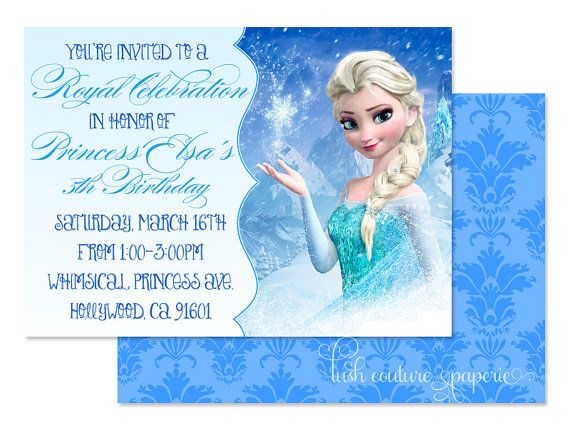 Printable Invitations Disney World