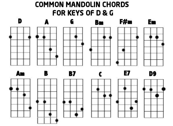 Fine Mandolin Chop Chords Chart Gift Basic Guitar Chords For