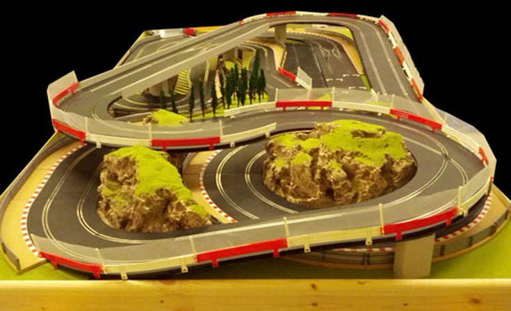 Layouts X12 Slot Car Track 6