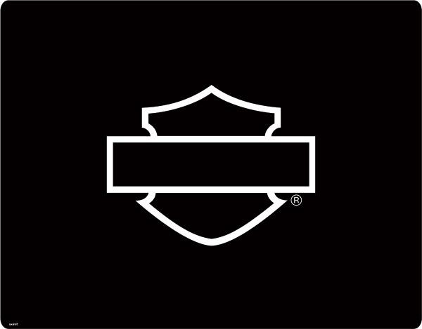 Harley Bar And Shield Stencil