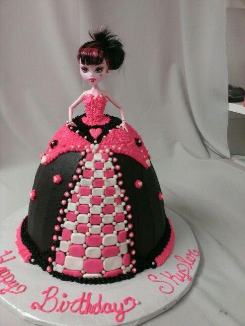 Clawdeen Wolf Cake Ideas