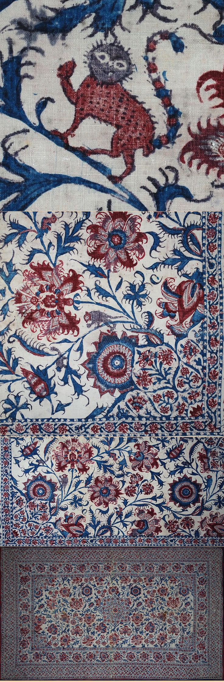 943 Best Palempores Chintz French And Blockprint Fabrics