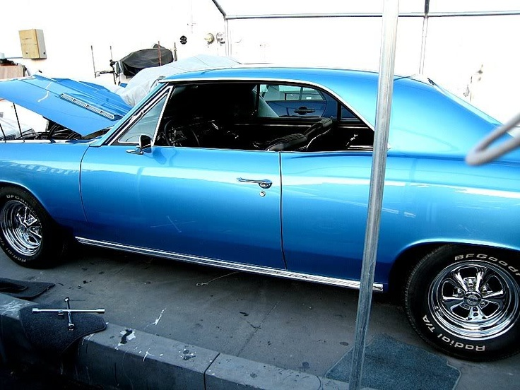 Blue 67 Chevelle Marina