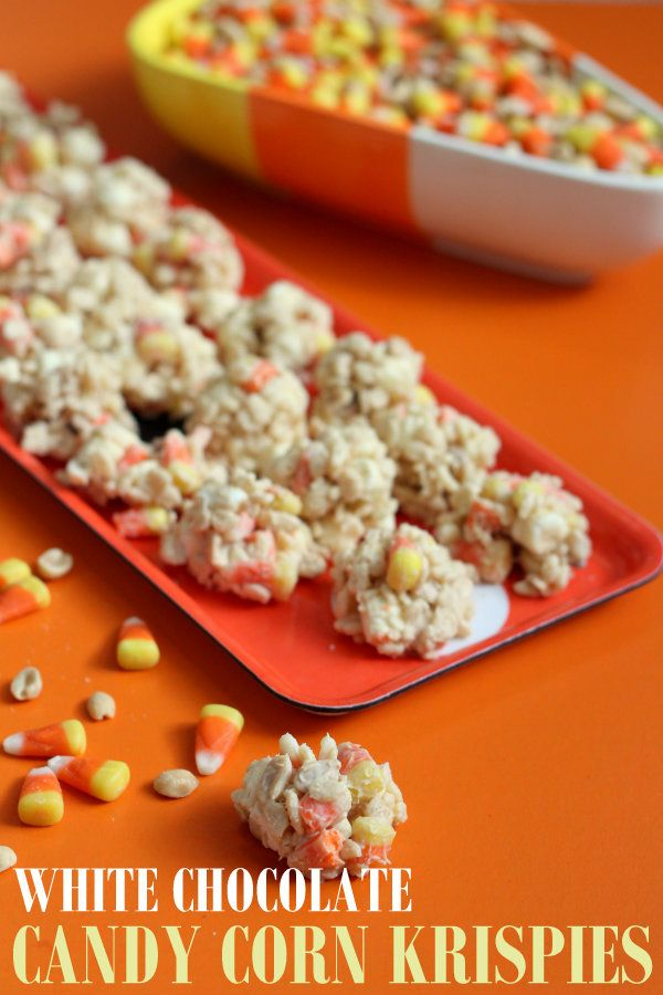 Halloween Treat Oreos Candy Corn Bark White