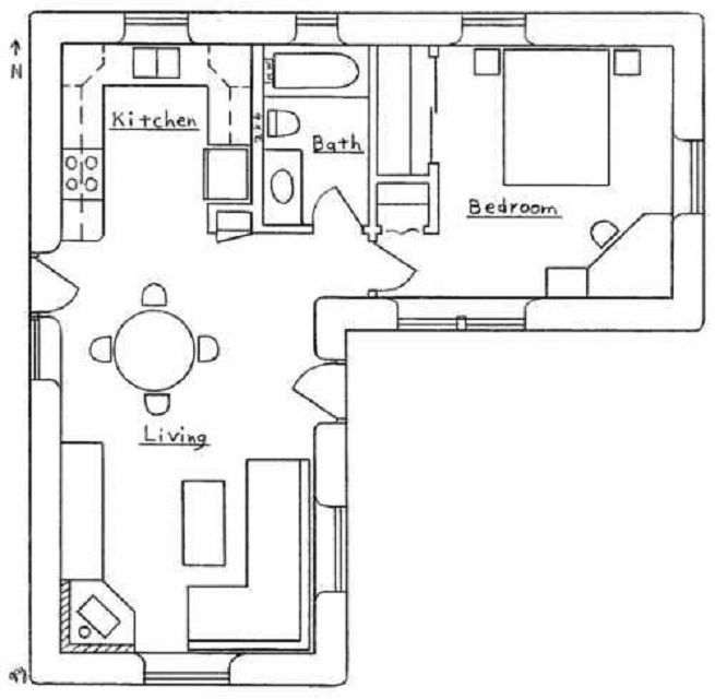 Small L Shaped Bathroom Layouts