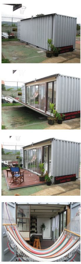 Containers Made Shipping Courtyards