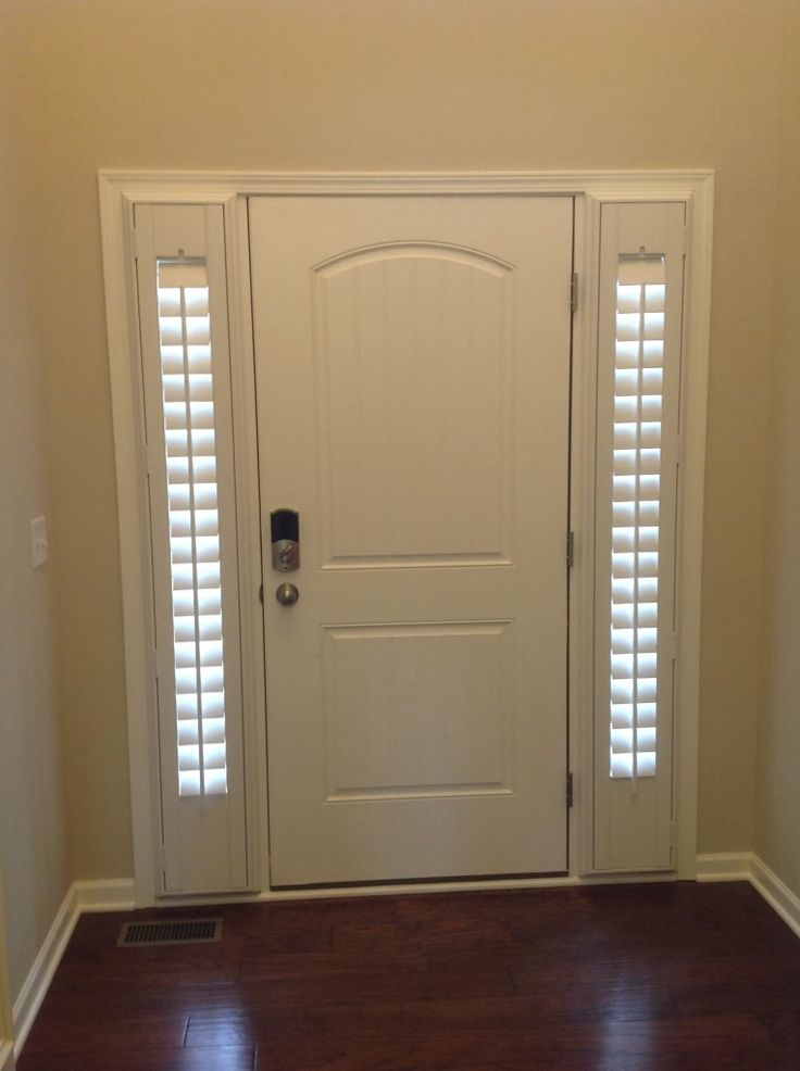 25 Best Ideas About Front Door Curtains On Pinterest