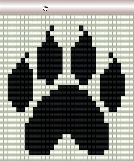 Bead Wolf Loom Pattern Printable