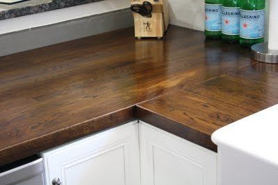 Countertop Crush Stained Butcher Block Islands Stains