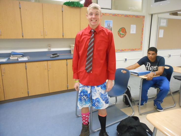 Wacky Day High School