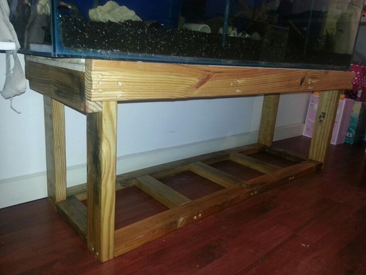 2x4 Aquarium Stand Plans