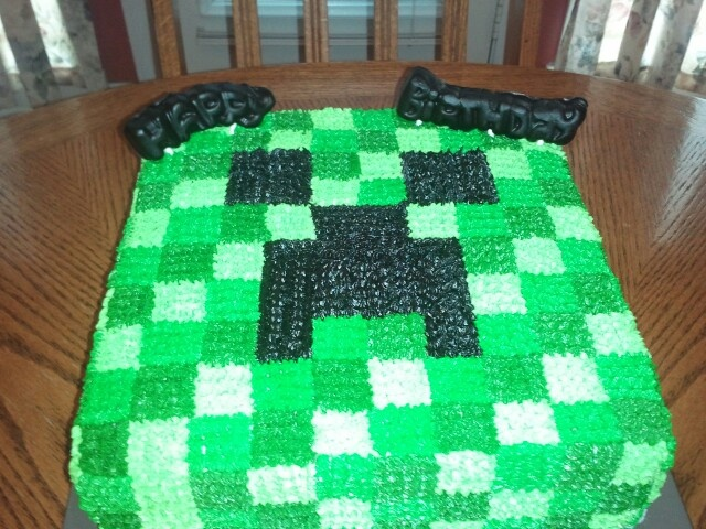 Minecraft Creeper Happy Birthday