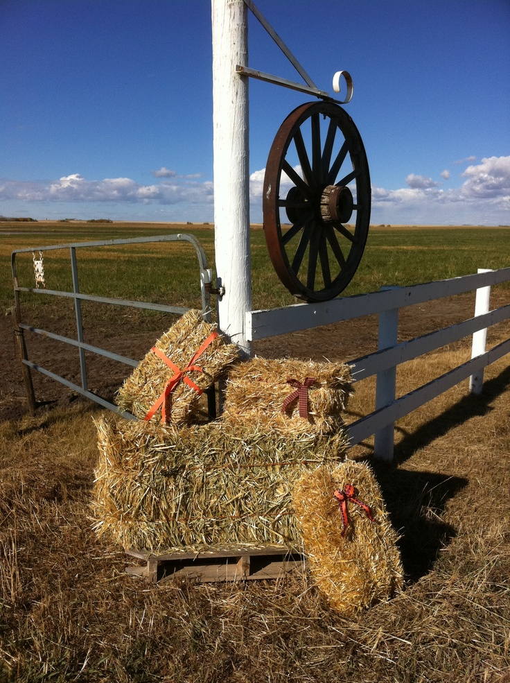 Fall Hay Quilts Bales