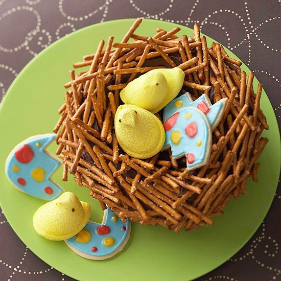 Easter Cakes Birds Nest