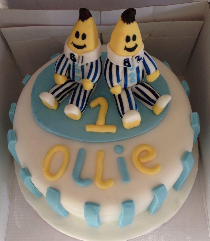 Banana Cake Decoration