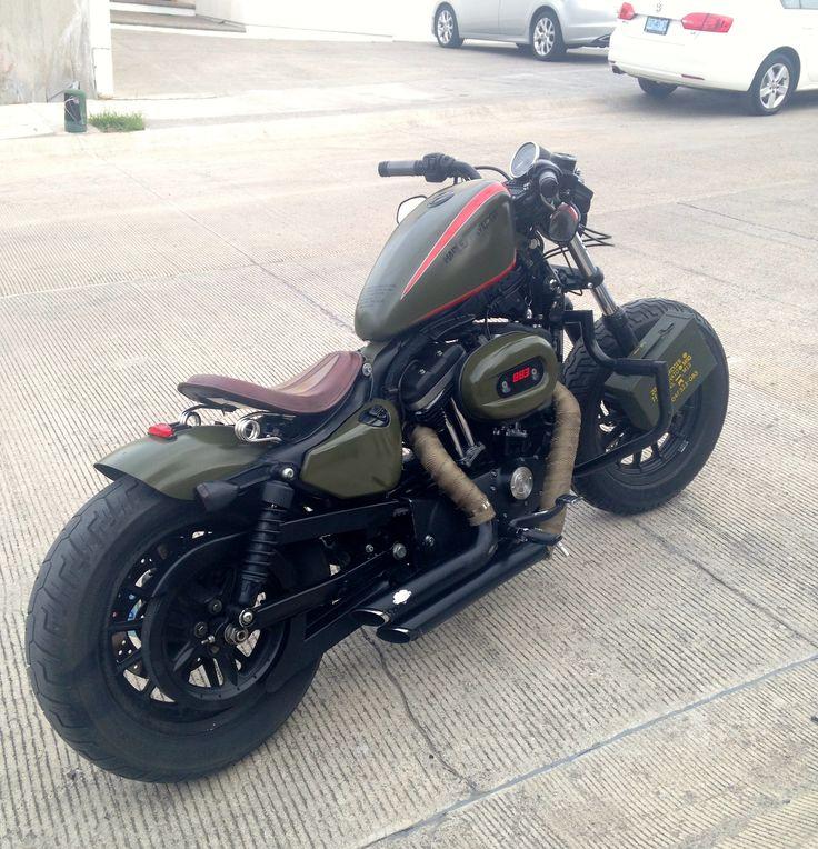 002 Sportster Iron 883 Modificada Tu Moto Debe Decir Algo