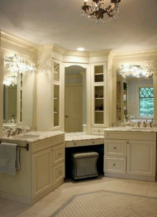 Makeup Table Lighted Mirror