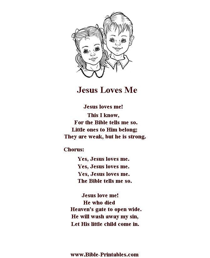 Me Yes Loves Jesus Lyrics Hymn