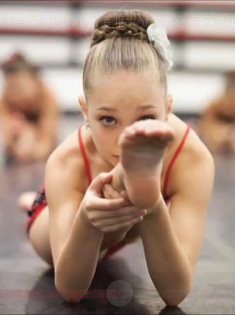 Dance Moms Maddie Ziegler Feet
