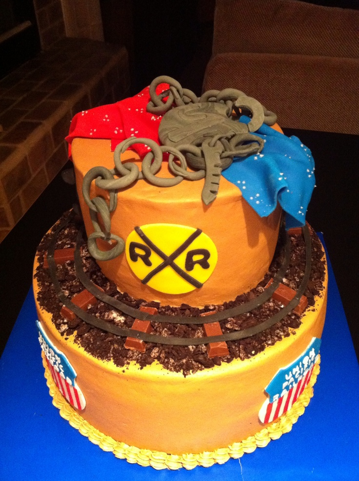 Railroad Retirement Cake Party Ideas Pinterest