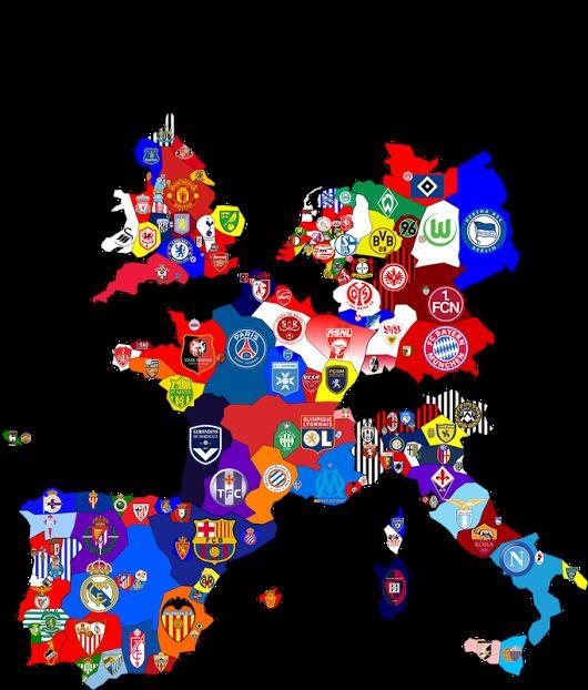 European Logos League Soccer