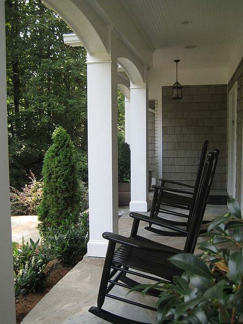 Tapered Front Porch Columns