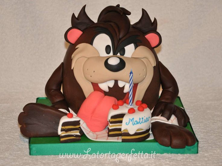 99 Best Images About Taz Cakes On Pinterest Birthday