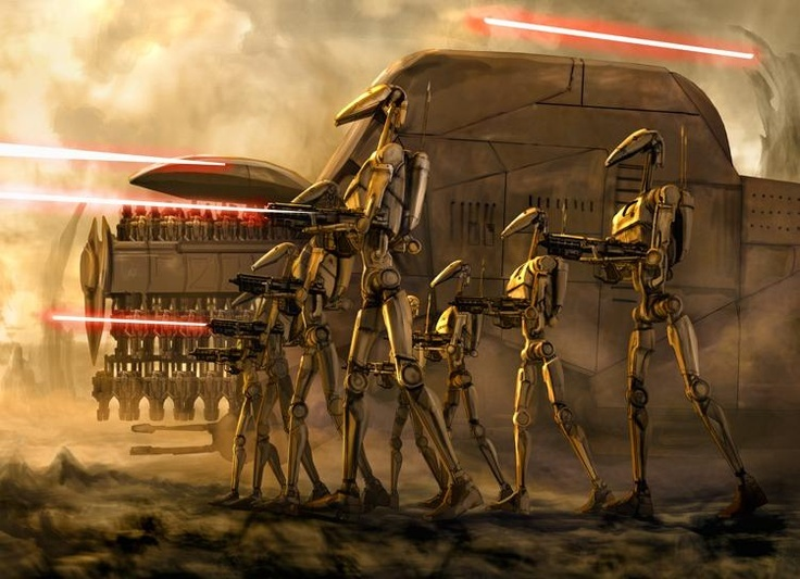 Star Wars Droid Army Wallpapers