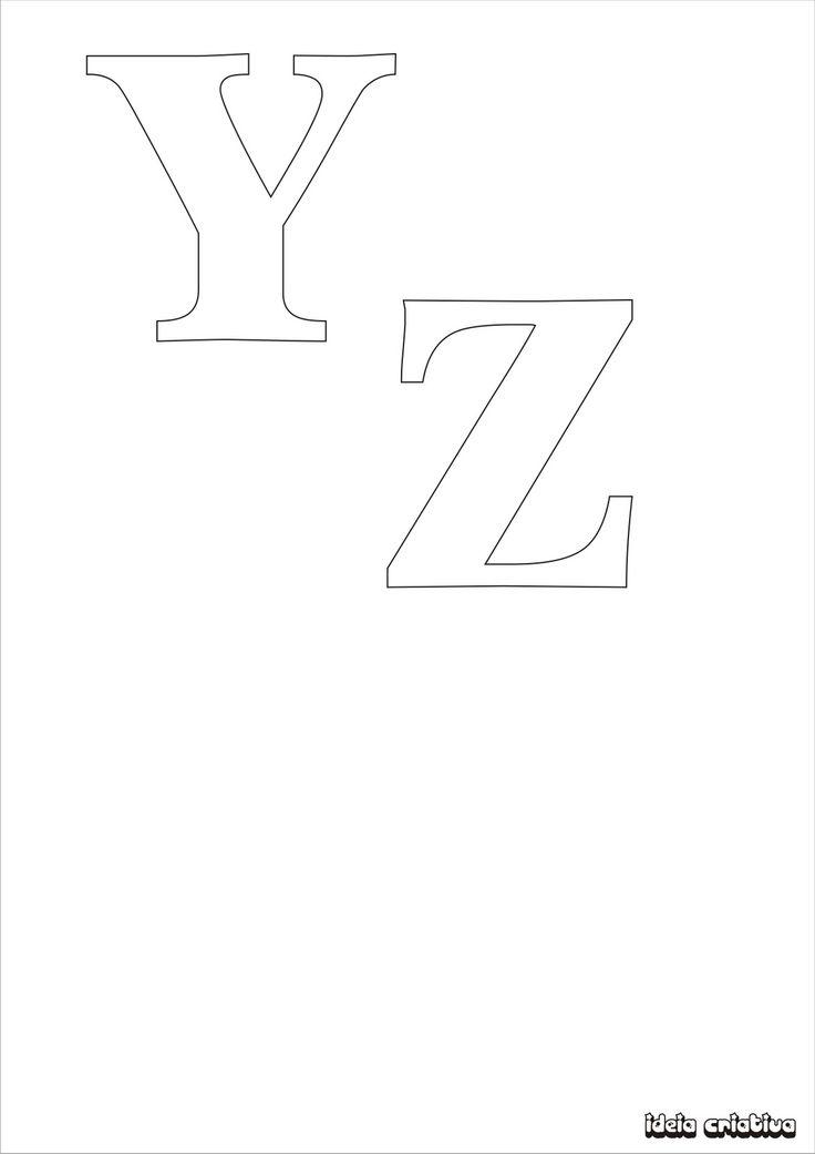 Alphabet Plastic Templates Canvas