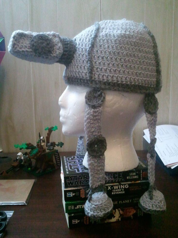 Star Wars Crochet Hat Tutorial