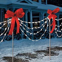 Make With Pvc Pipe Bows Lights Rebar In Ground Light