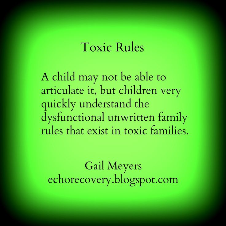 Toxic About Family Quotes