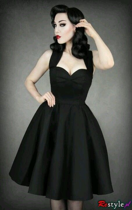 Pinup, Goth and Bridesmaid on Pinterest