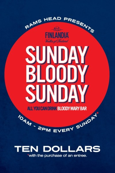 Sunday Bloody Mary Bar Promotions Every Sunday, $10 All ...
