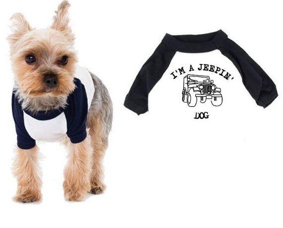 Dog And Jeep Shirts