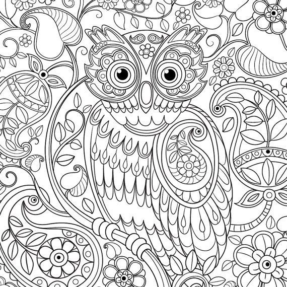 2 Silhouette Owls Patterns