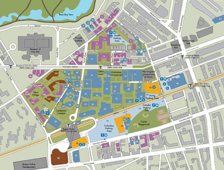 California Lutheran University Campus Map