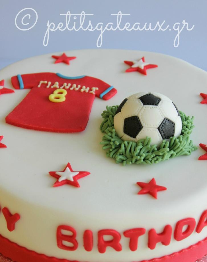 Cartoon Football Cake Decorating