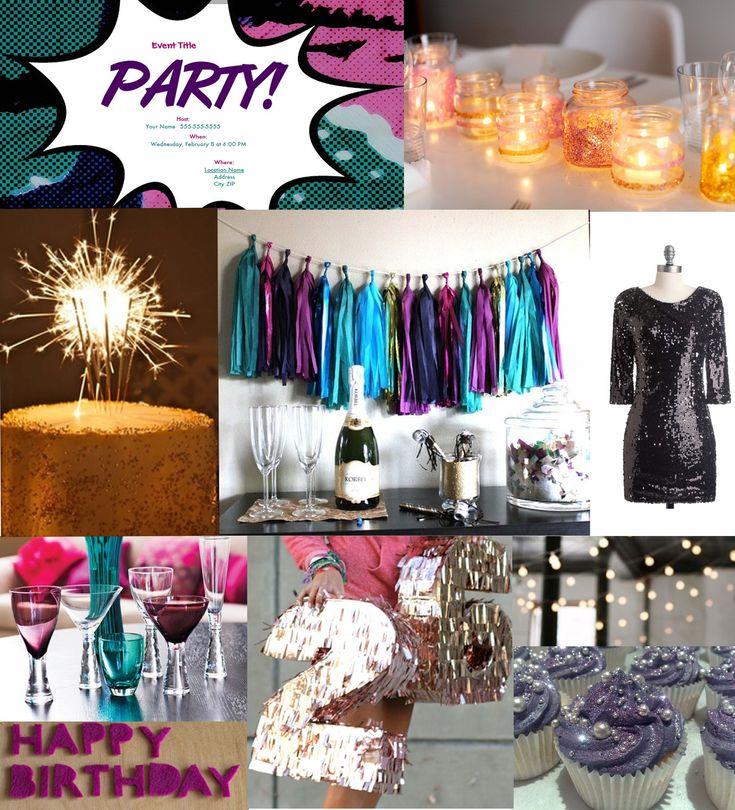 Table Decoration Ideas 70th Birthday