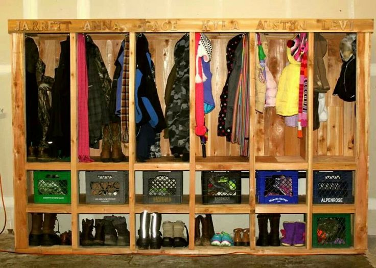 Garage Cubbies Big Diy Projects Pinterest Cubbies