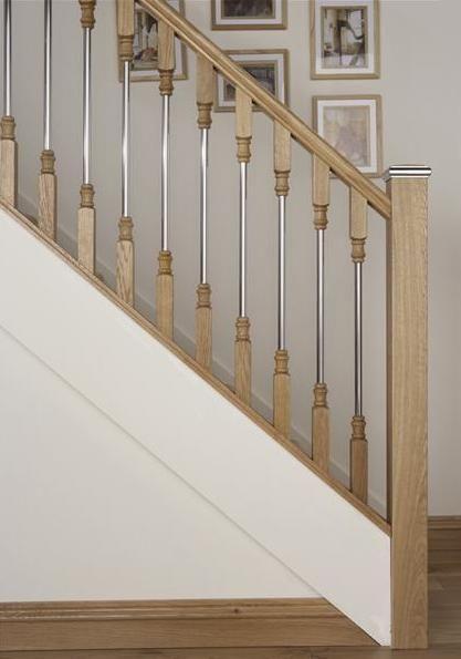 Stairs Wall Metal Railings
