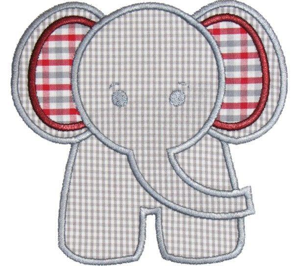 Elephant Applique Boys