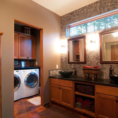 Bathroom Laundry Combos Design Ideas, Pictures, Remodel ...