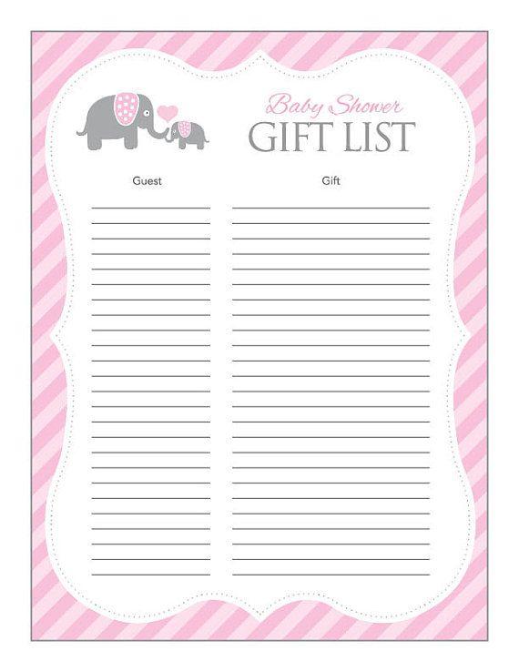 Printable Elephant Calendar