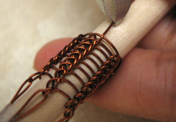 Viking Wire Weaving Techniques